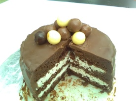 Sumptuous choccy cake